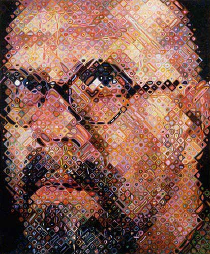 paint pixel chuck close